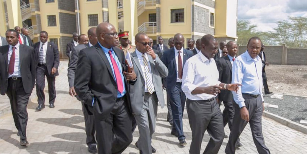 President Kenyatta tours Riverview